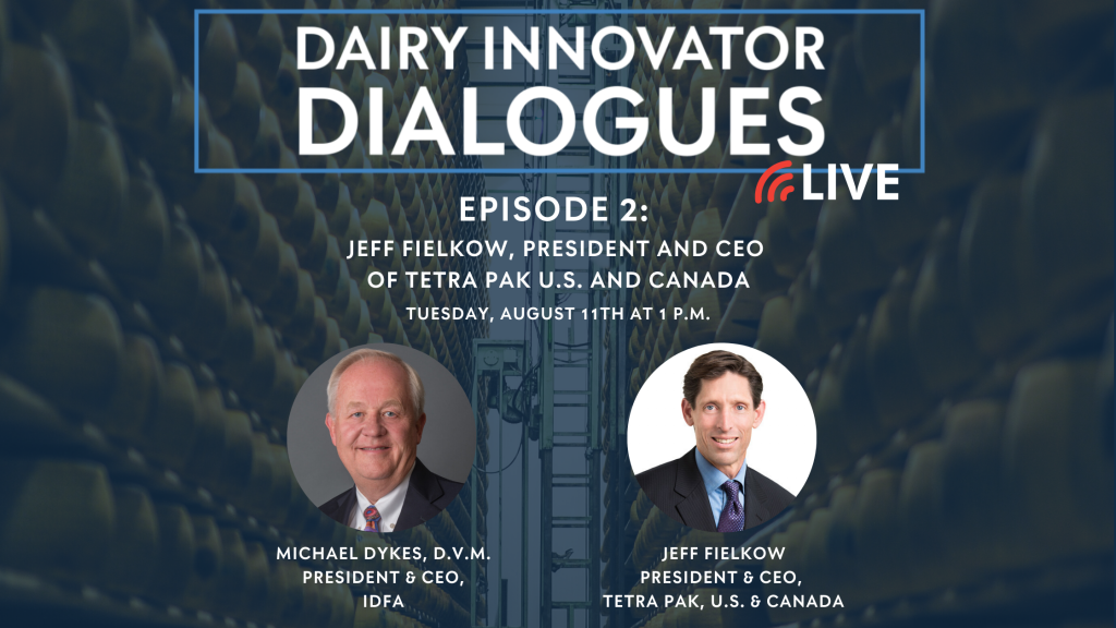 Dairy Innovator Dialogues Live 2 TetraPak Jeff Fielkow